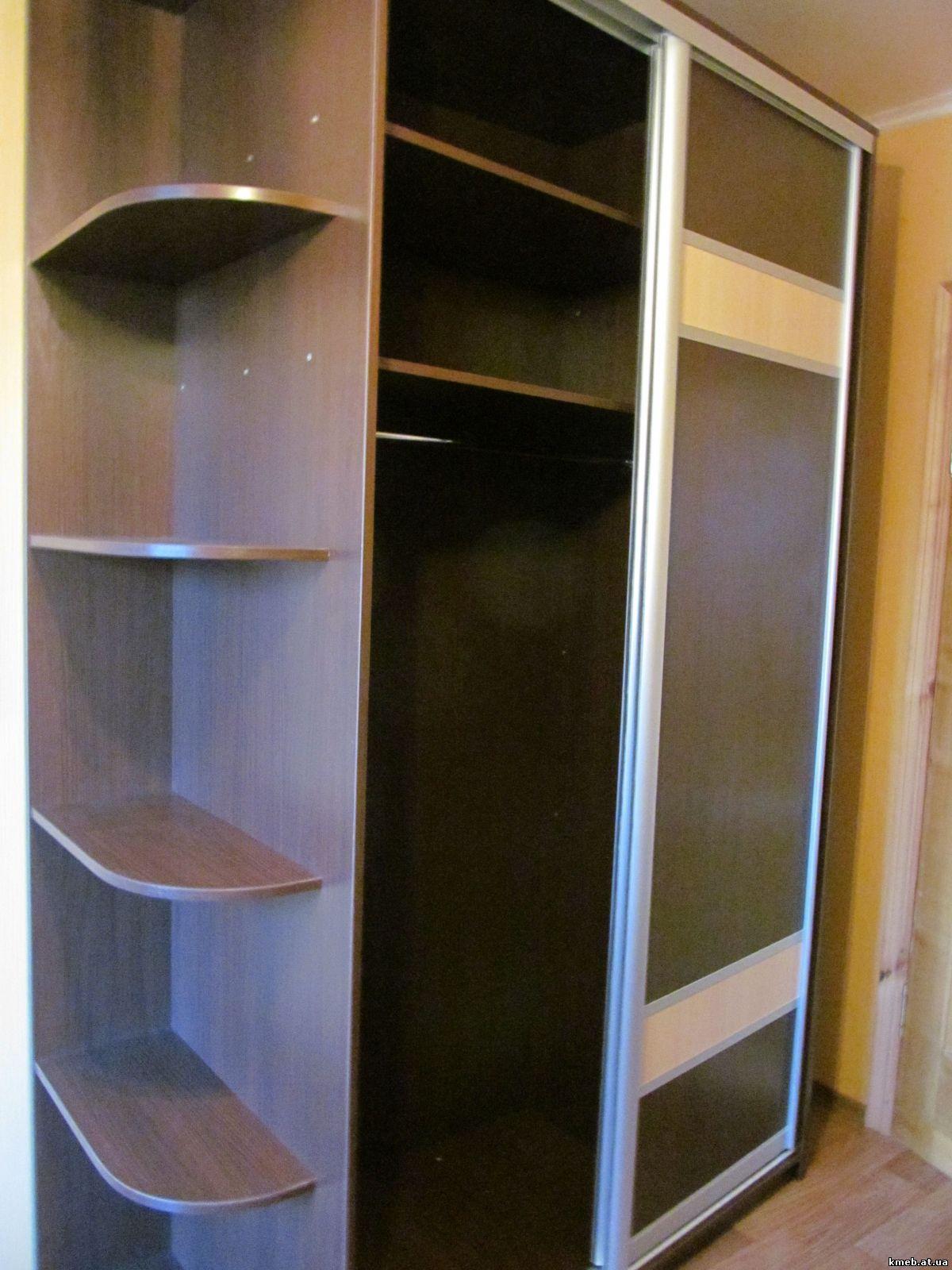 Фото шкафов из двух цветов